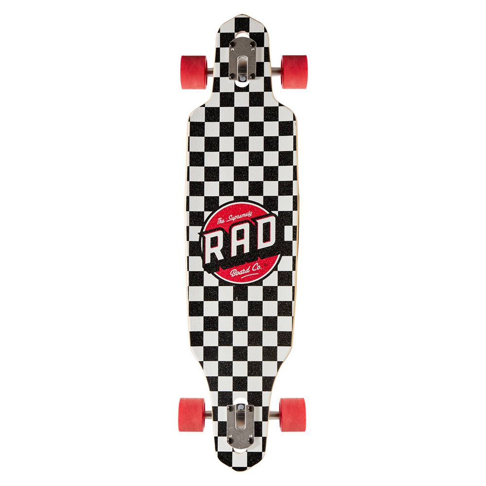 Longboard RAD kompletny 36 cali krata