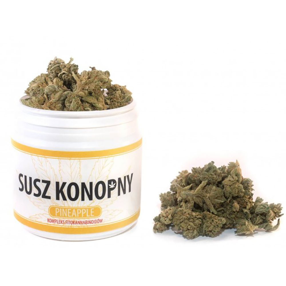 Susz konopny CBD 4.3% Konopie Pineapple 10g weed
