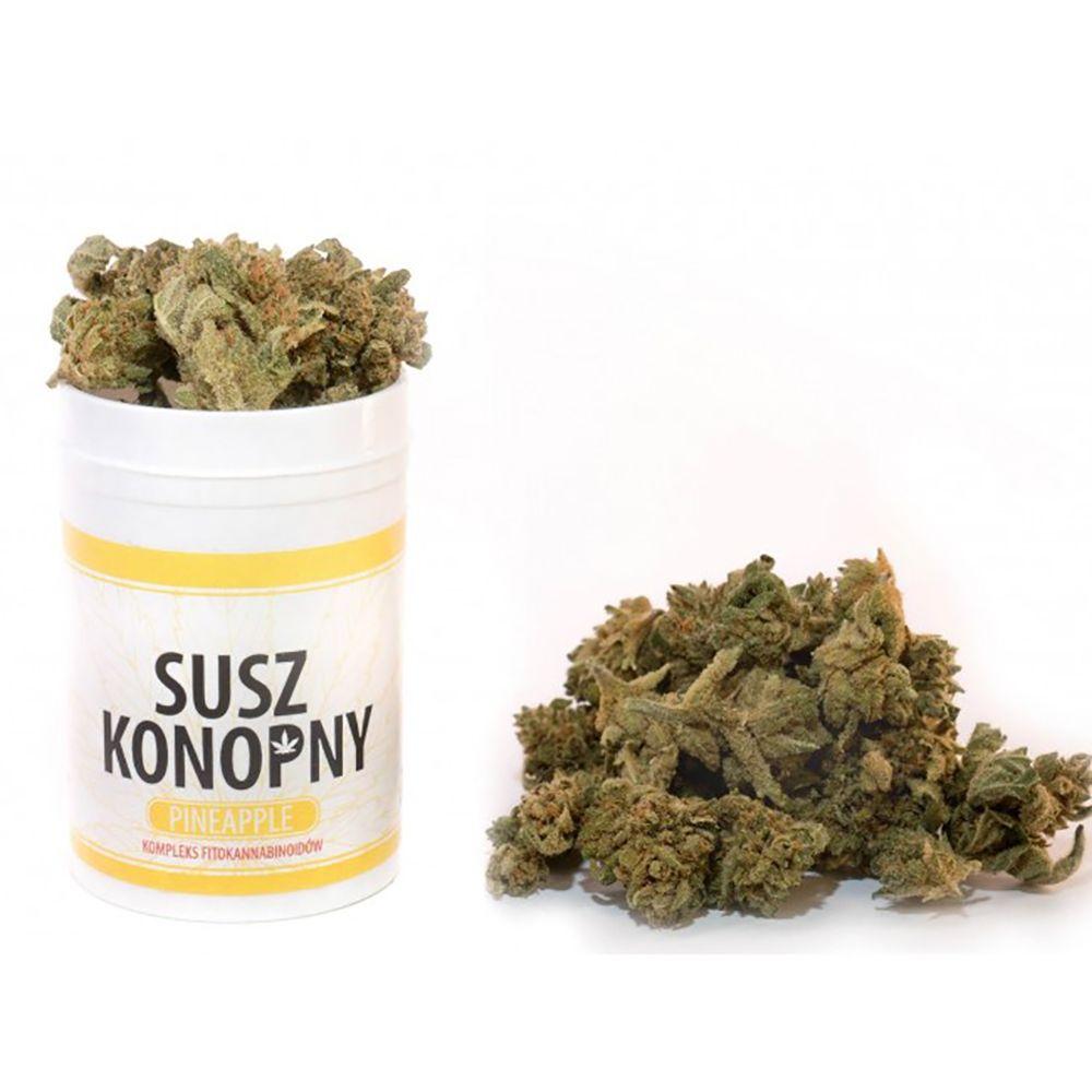 Susz konopny CBD 4.3% Konopie Pineapple 2 g weed